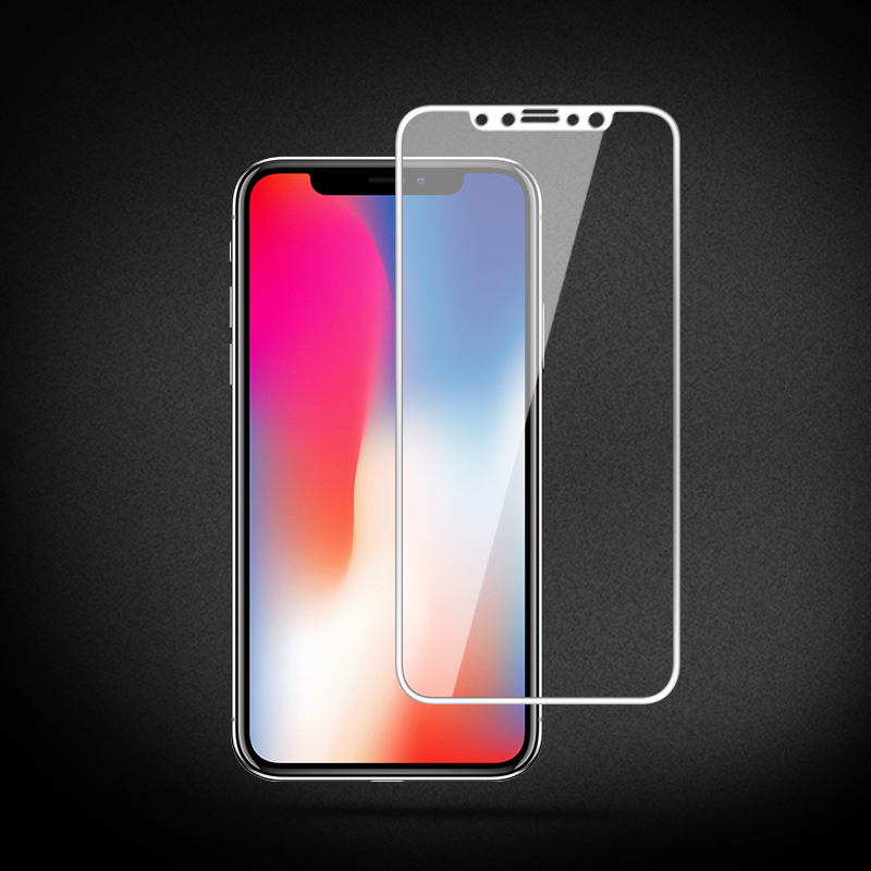 iPhone X 3D Curved Tempered Glass Screen Protector