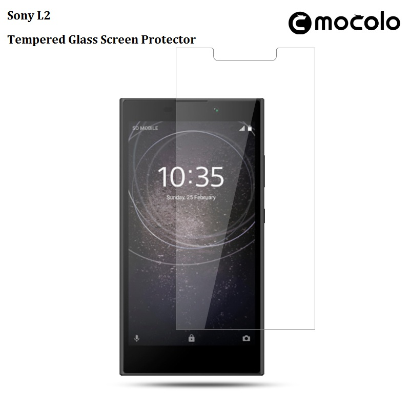 Sony L2 Transparent Tempered Glass Screen Protector