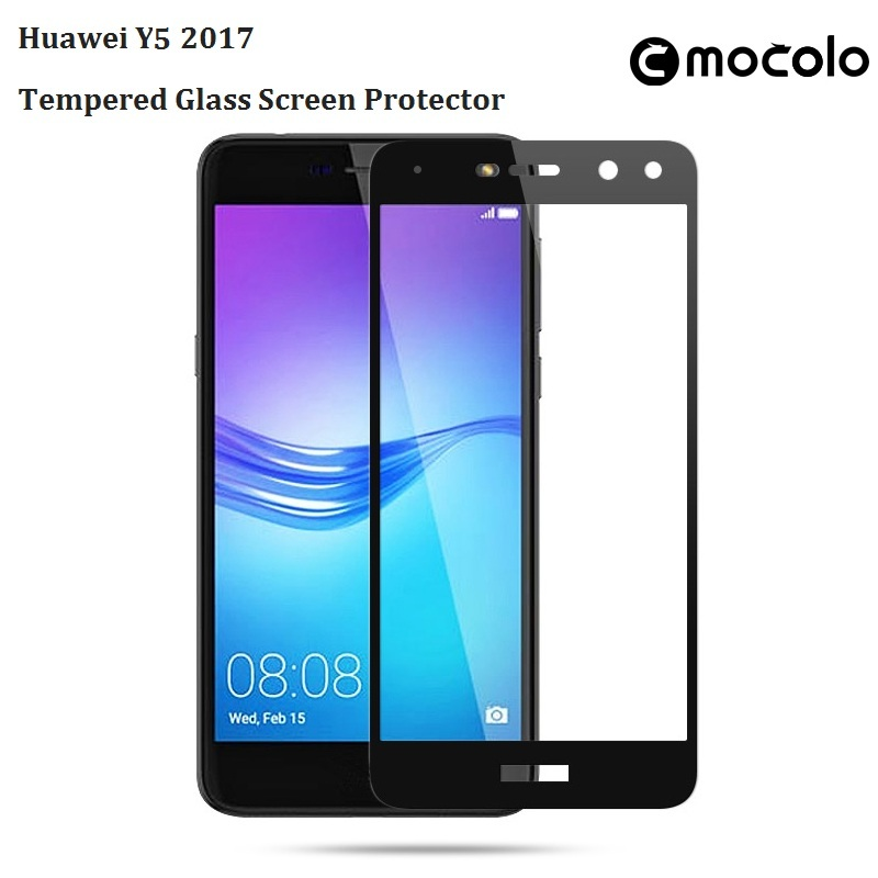 Huawei Y5 2017 Silkprint Tempered Glass Screen Protector