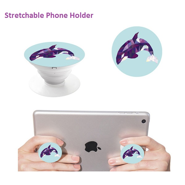 Stretchable Phone Holder Foldable Universal Gasbag Design Multifunction